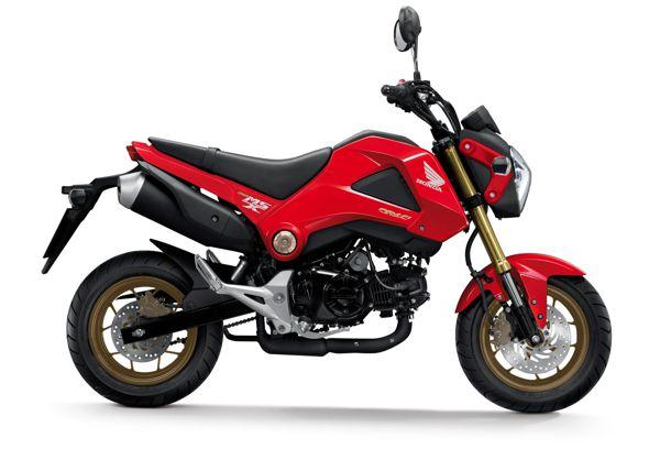 Honda msx125 2014 Valente, com novas cores
