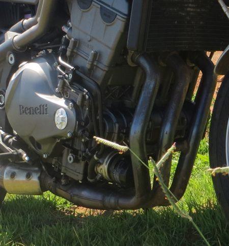 O motor, embora pouco rodado já tinha recebido um uso intenso