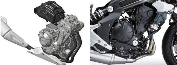 Motores com a mesma concepção tem diferentes cilindradas