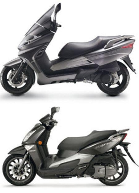Em abril de 2014 dois scooters serão lançados, um 150cc e outro 300cc