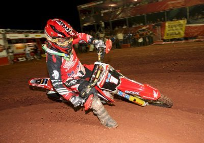 O português Paulo Alberto, vencedor da MX2