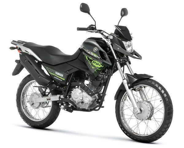 Versão básica da nova moto da Yamaha tem freios a tambor e custa R$9.050,00