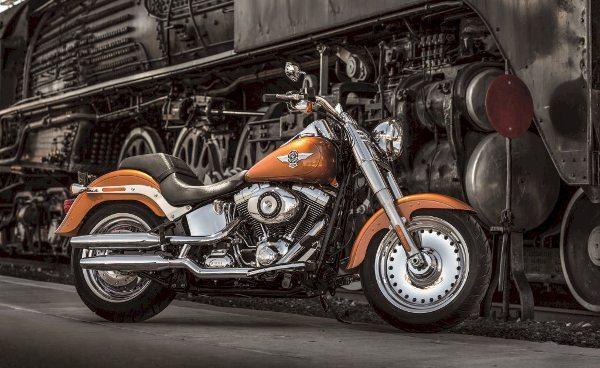 Harley-Davidson, anuncia condições especiais para a compra da Fat Boy 2014