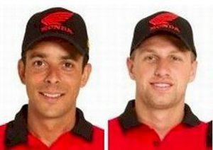 Os irmãos Ike e Guto representarão a Honda através da equipe satélite Klaumann Team