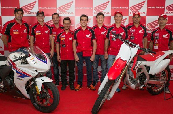Honda apresenta equipes, pilotos e estratégias de competições para temporada 2014