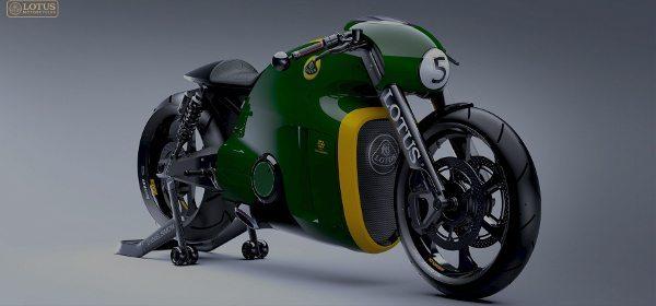 A Lótus lança a sua primeira motocicleta, a C-01