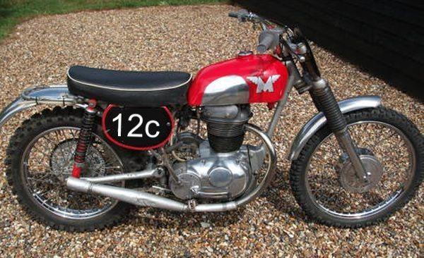 Matchless G2CS Scrambler de 1959