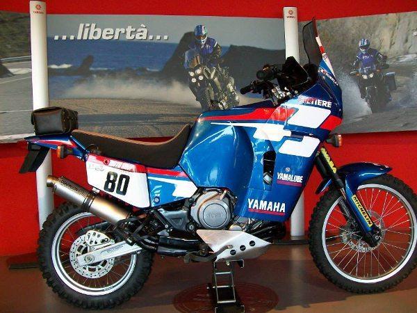 Yamaha XT 750Z SuperTénéré, uma jóia em exposição