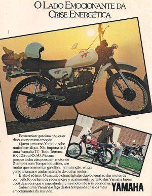 Yamaha TT 125, a moto da primeira vez do Wado Santista