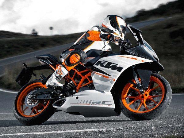 KTM RC390, uma das motos que poderão ser montadas em Manaus pela Dafra