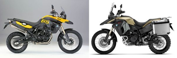 BMW F 800 GS e F 800 GS Adventure