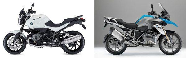 BMW R 1200 R e R 1200 GS