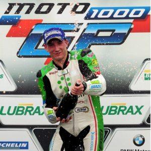 Matthieu Lussiana venceu uma etapa do Moto 1000 GP em 2012 e volta para cumprir a temporada de 2014 completa