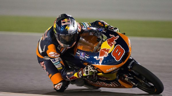 Jack Miller da Red Bull KTM AJo no Grande Prêmio do Qatar