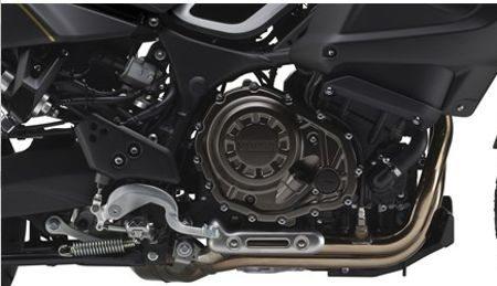 Motor: 112cv e mais torque nas médias rotações para facilitar a pilotagem