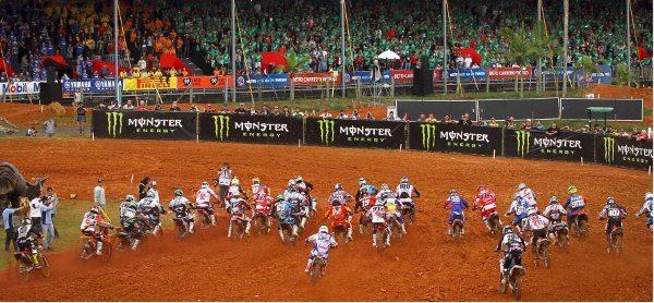 Penha (SC) se prepara para receber a etapa brasileira do Campeonato Mundial de Motocross MXGP e MX2