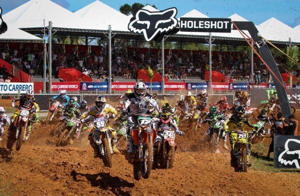 São Pedro ajudou e o público compareceu em grande número às provas classificatórias do GP Brasil de Motocross