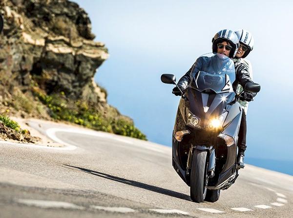 A nova Yamaha T-Max