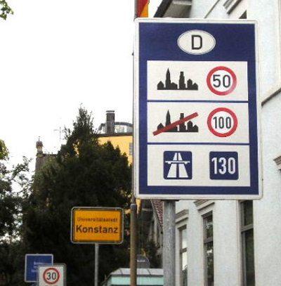 """Alemanha: sem limites, mas com a velocidade """"recomendada"""""""