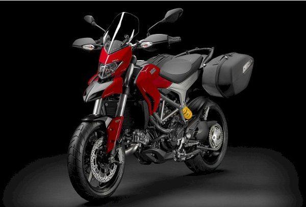 A Ducati Hypermotard é o modelo top entre as três versões