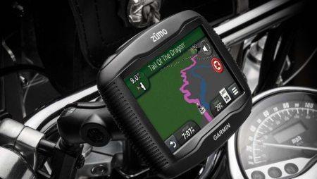 GPS ideal para uso motociclístico