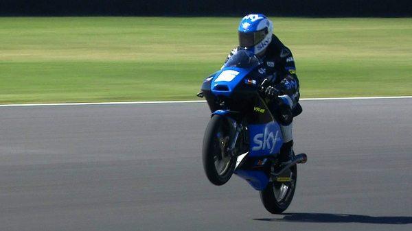 Romano Fenati da SKY Racing Team VR46 vencedor da Moto3 no GP da Argentina