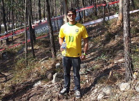Vitor Borges é um dos brasileiros no Mundial de Enduro em Portugal