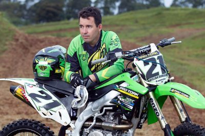 Willian Guimarães, líder da MX3 no Paranaense de Motocross