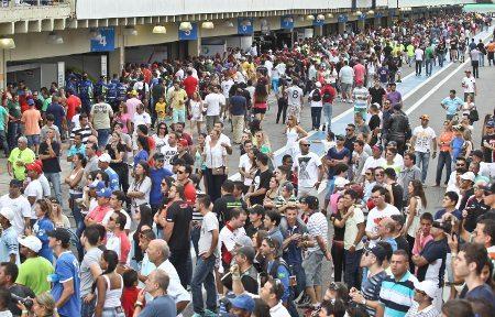 Estima-se um público superior a 30 mil pessoas no evento