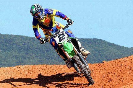 Chumbinho conseguiu ótimos resultados na 2ª etapa do Catarinense de Motocross