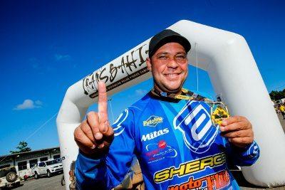 Jomar Grecco, campeão das motos no Rally Transbahia 2014
