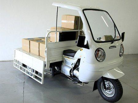 Tricíclo em versão para carga aberta
