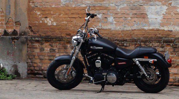 H-D XL 1200 CB exclusividade em estilo retrô