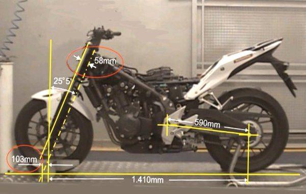 Na geometria ela combina características de esportiva com de motos de passeio. O resultado é positivo para a versatilidade