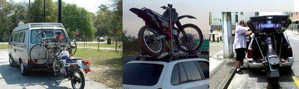 Improvisar não é recomendável pois pode causar acidentes e desgaste na moto