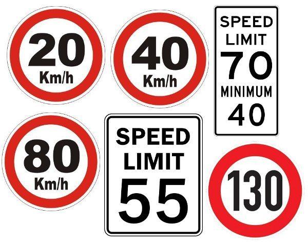Limites de velocidade: onde não há placas, deve ser obedecido o limite da via