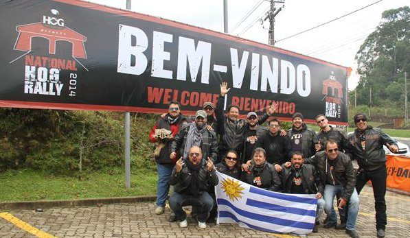 Chapter do Uruguay, chegando a Gramado