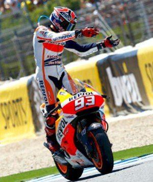 Não teve para mais ninguém; só deu Márquez em Jerez