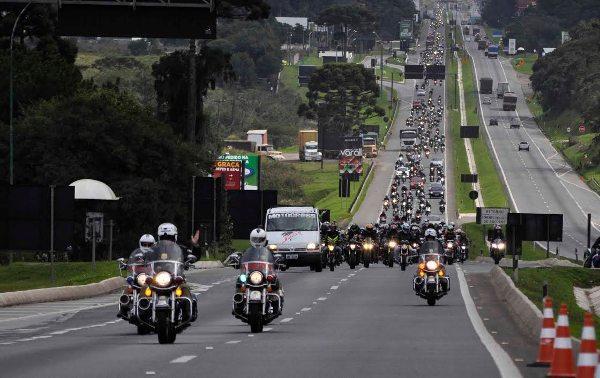 Sucesso total no 10ª Moto Passeio Savages neste Dia do Trabalho - divulgação Loja de Notícias