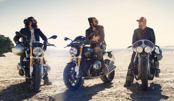A mesma moto com diferentes personalizações
