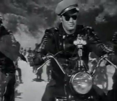 Brando e sua jaqueta: inconfundível