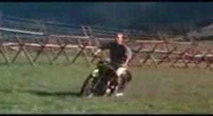 Uma das cenas mais famosas do cinema: Steve McQueen, o ator sem dublê