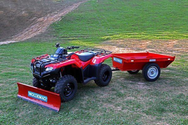 Implementos agrícolas estão sendo desenvolvidos por empresas especializadas