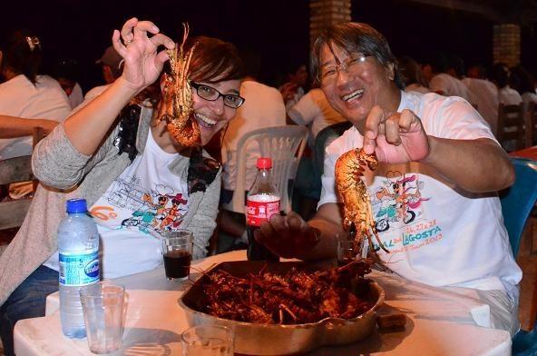Se você gosta de lagosta, o lugar é aqui (foto de Luiz Almeida)