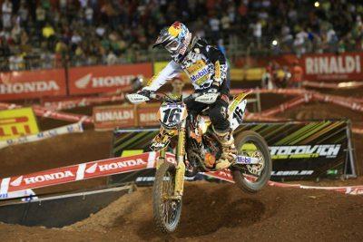 Enzo Lopes se firma como uma das grandes promessas do motocross