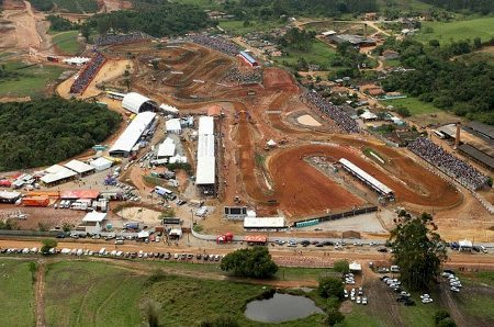 Pista de motocross da cidade de Canelinha (SC)