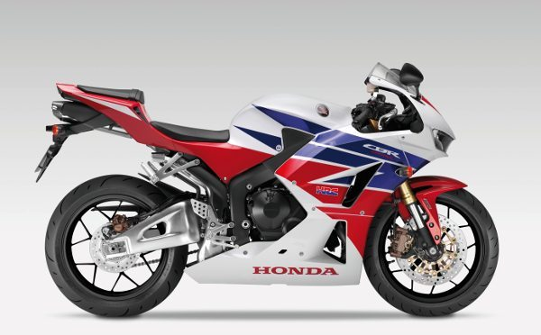 A nova Honda CBR 600RR