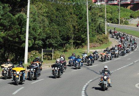 No World Ride, cada quilômetro rodado deve ser registrado no contador online da Harley-Davidson