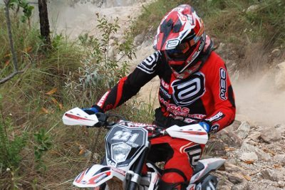 Rigor Rico, piloto de enduro da Gas Gas Racing Team