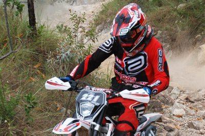 Rigor Rico, piloto de enduro da Gas Gas Racing Team
